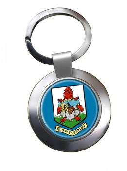 Bermuda Metal Key Ring