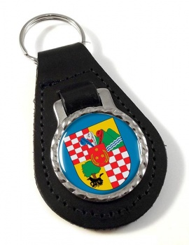 San Bernardo (Chile) Leather Key Fob