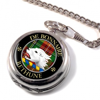Bethune Scottish Clan Pocket Watch