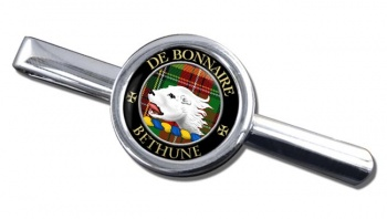 Bethune Scottish Clan Round Tie Clip