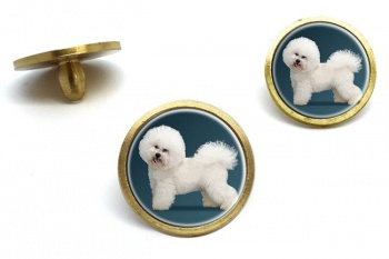Bichon Frise  Golf Ball Marker Set