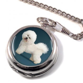 Bichon Frise Pocket Watch