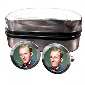 Bing Crosby Round Cufflinks