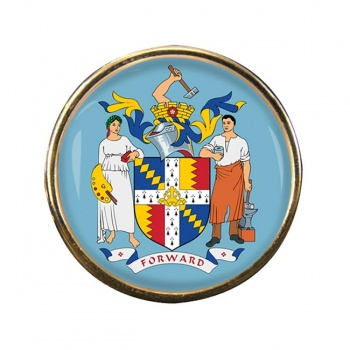 Birmingham (England) Round Pin Badge