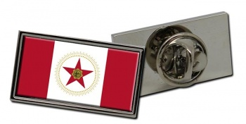 Birmingham AL  Flag Pin Badge