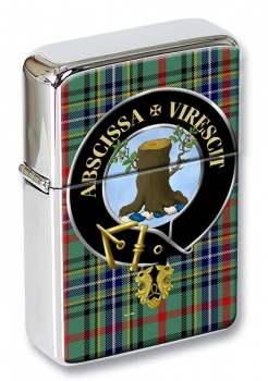 Bisset Scottish Clan Flip Top Lighter