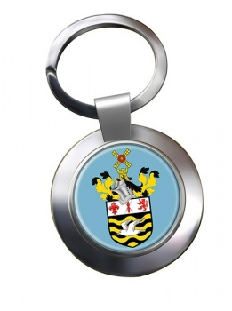 Blackpool (England) Metal Key Ring