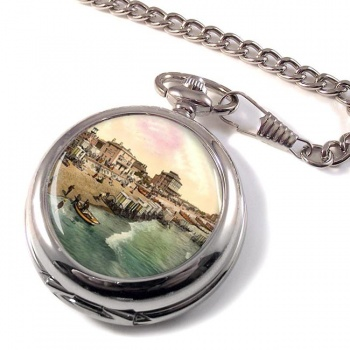 Beach at Bognor Sussex Pocket Watch