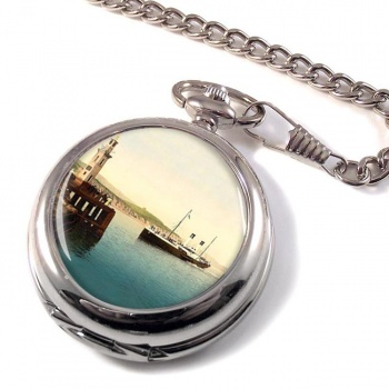 Boulogne Boat Folkestone Pocket Watch