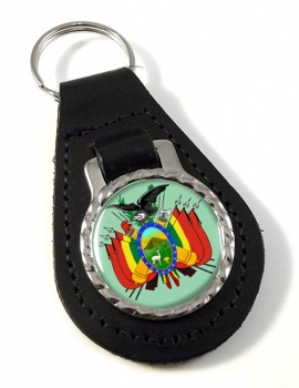 Bolivia Leather Key Fob