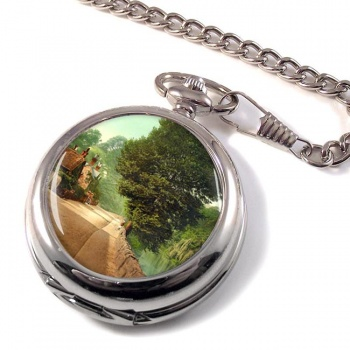 Bonchurch Pond Isle of Wight Pocket Watch