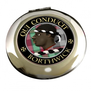 Borthwick Scottish Clan Chrome Mirror