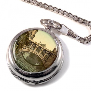 Bridge of Sighs Cambridge Pocket Watch