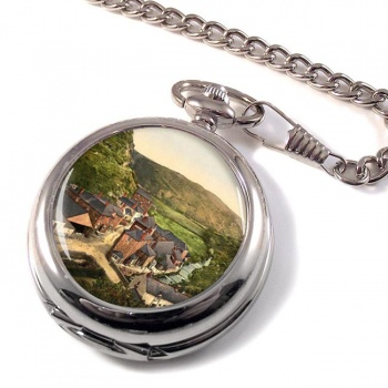 Boscastle from New Road Pocket Watch