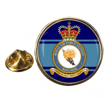 Boulmer Round Pin Badge
