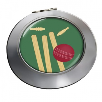 Bowled (Cricket) Chrome Mirror