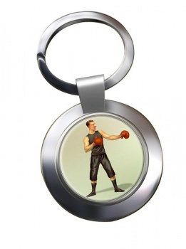 Boxing World Champion Chrome Key Ring