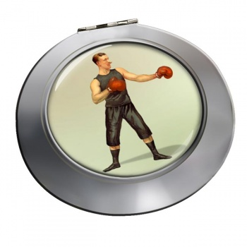 Boxing World Champion Chrome Mirror