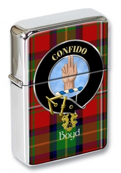 Boyd Scottish Clan Flip Top Lighter