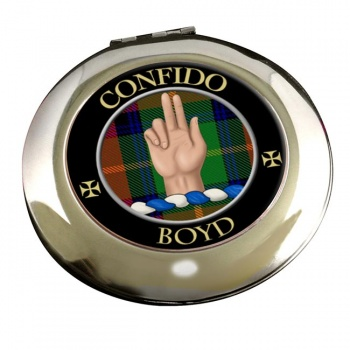 Boyd Scottish Clan Chrome Mirror