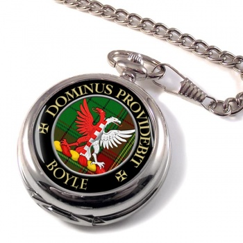 Boyle Scottish Clan Pocket Watch