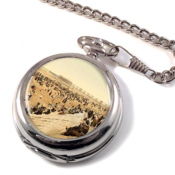 Blackpool Beach Pocket Watch