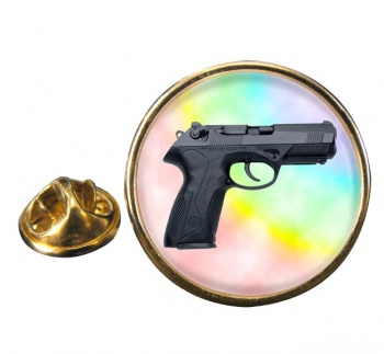 Beretta Px4 Storm Round Pin Badge