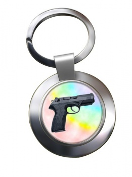 Beretta Px4 Storm Chrome Key Ring
