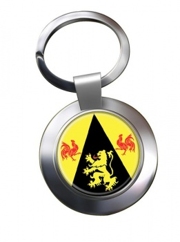 Brabant wallon (Belgium) Metal Key Ring