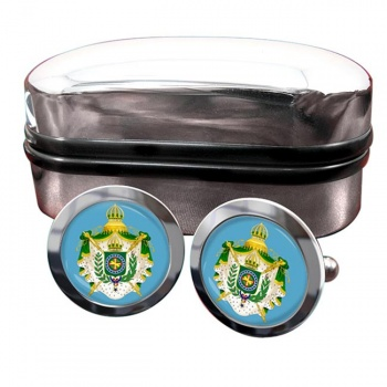 Imperio do Brasil Crest Cufflinks