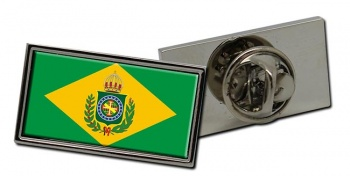 Imperio do Brasil Flag Pin Badge
