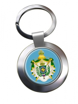 Imperio do Brasil Metal Key Ring