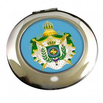 Imperio do Brasil Round Mirror