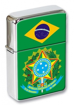 Brazil Brasil Flip Top Lighter