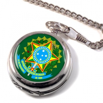 Brazil Brasil Pocket Watch