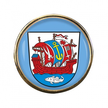 Bremerhaven (Germany) Round Pin Badge