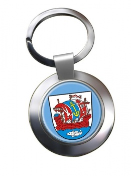 Bremerhaven (Germany) Metal Key Ring
