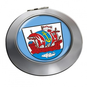 Bremerhaven (Germany) Round Mirror