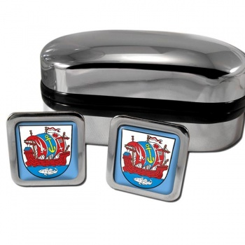 Bremerhaven (Germany) Crest Square Cufflinks
