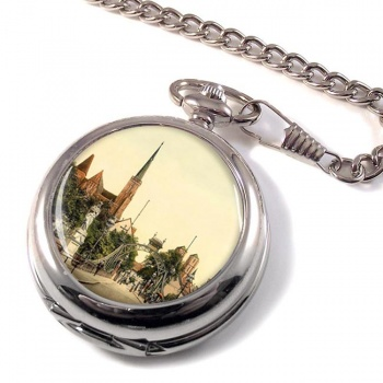 Breslau Cathedral Germany Pocket Watch