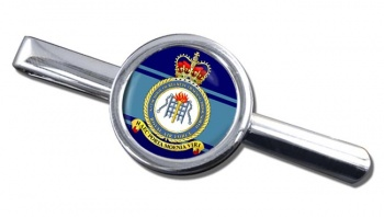 RAF Station Bridgnorth Round Tie Clip