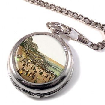Bridlington Beach Pocket Watch