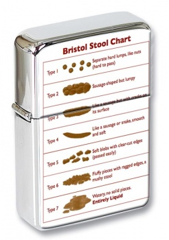 Bristol Stool Chart Flip Top Lighter