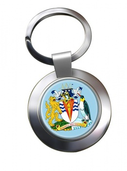 British Antarctic Territory Metal Key Ring