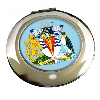 British Antarctic Territory Round Mirror
