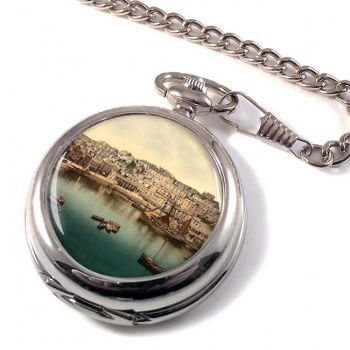 Brixham Harbour Devon Pocket Watch