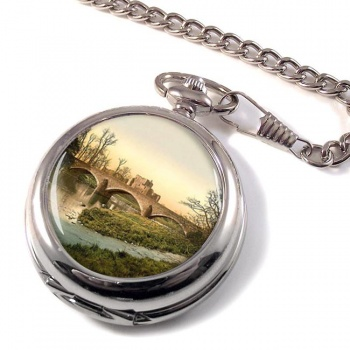 Brougham Castle Cumberland  Pocket Watch