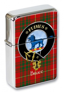 Bruce Scottish Clan Flip Top Lighter