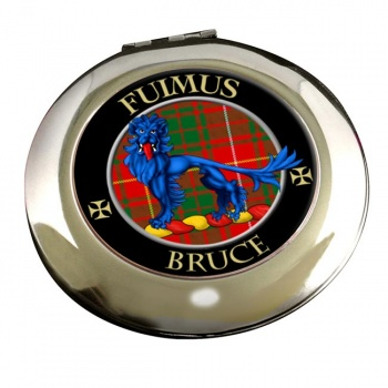 Bruce Scottish Clan Chrome Mirror