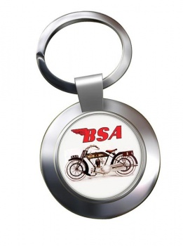 BSA Chrome Key Ring